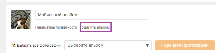Как удалить все фото из альбома в Одноклассниках сразу – простой способ