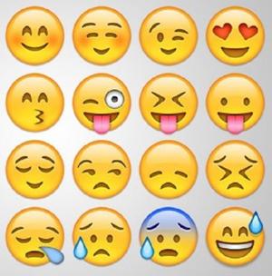 Как сделать смайлы в instagram